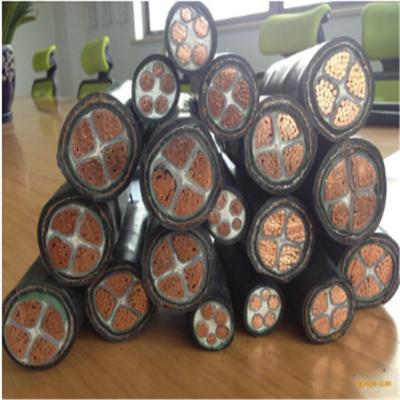 易初供应国标BPVVP 3×120+3×25 聚氯乙烯绝缘和护套铜丝编织屏蔽变频电力电缆