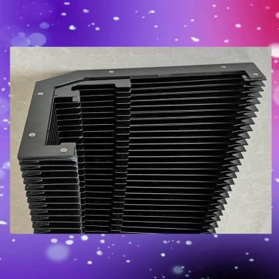 激光切割机用Y轴防尘罩4020耐高温风琴防护罩横梁防尘折布防护帘