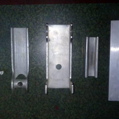 皮带机专用夹持器 不锈钢导料槽夹持器 安源挡煤皮