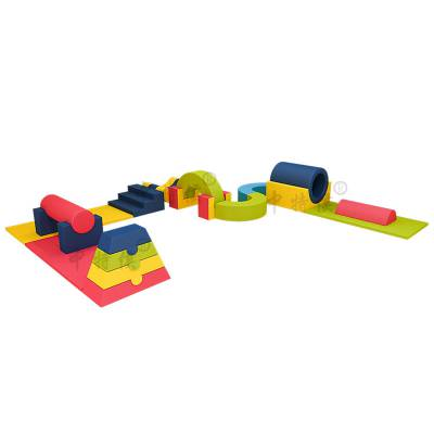 中特侯儿童益智玩具钻爬组合彩虹接龙软体运动组合可代销