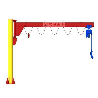 定做2t立柱式悬臂吊 bzd起重吊臂 双臂式悬臂吊厂家