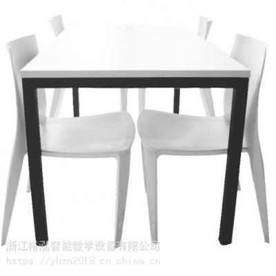 厂家直销现代休闲餐桌/学校食堂餐桌/学生餐桌/简约餐桌/餐桌椅/钢木休闲餐桌/分体餐桌