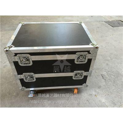 展越广州铝合金航空箱定做 设备音响箱仪器箱子工具杂物箱一个起订