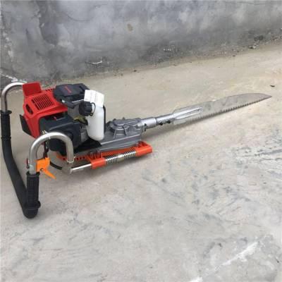 幼苗汽油挖树机工作原理 手持式汽油挖树机 苗木断根起树机 单人操作移植机