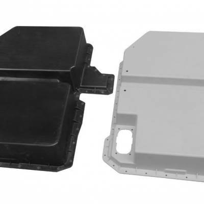SMC模压卡车玻璃钢件/模压卡车轮眉/SMC模压卡车导流罩