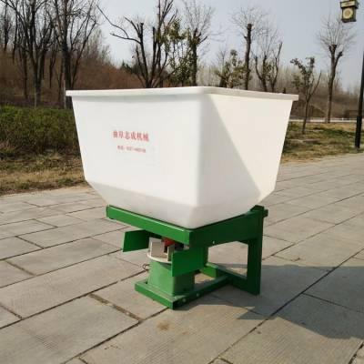 志成农用小型撒肥机器 车载悬挂式电动撒肥机 插秧机前置施肥器