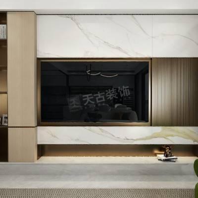 渝北江山樾叠拼别墅设计,江山樾现代风格别墅装修效果图