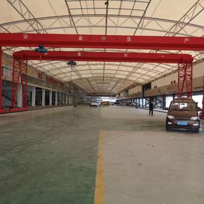 QD型双梁桥式起重机仓库简易龙门架轻型8吨龙门架厂家