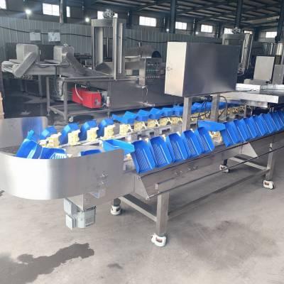 全自动蜜薯重量分选机 红薯分选设备 蜜薯分级设备