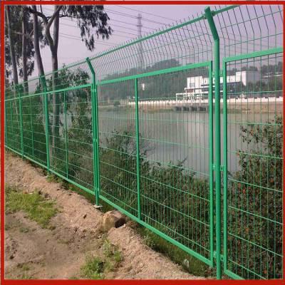 1.5米高护栏网 钢板热压柱护栏网 防烫铁丝网