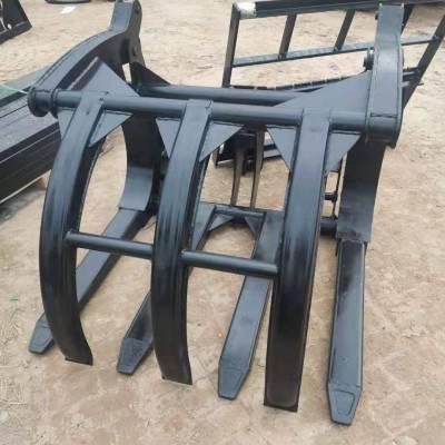 装载机安装抓子头 装载机安装抓子 结构合理 全国发货