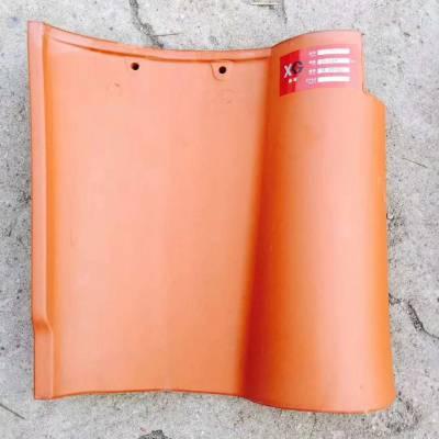 屋面工程系统化材料31*31陶瓷S瓦法式罗曼瓦吸水率低***抗冻