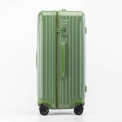 礼品定制logo拉杆箱拉链拉杆旅行包万向轮行李箱20寸