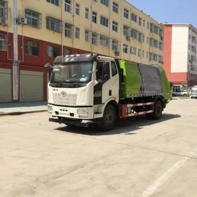 衡水东风多利卡车厢可卸式垃圾车多少钱一辆