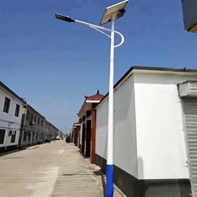 涿鹿新农村太阳能路灯 双臂太阳能路灯7米 校园道路照明