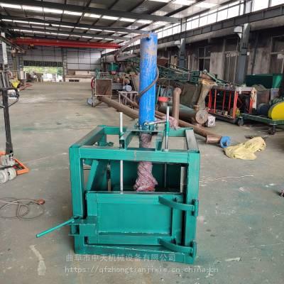 曲阜中天废纸板液压打包机生产厂家 高效率烟叶小包厢液压打包机