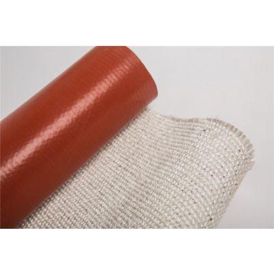 供应宣城鑫茂耐高温玻璃纤维硅橡胶布