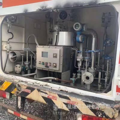 二手15立方LNG移动加液车,液化天然气救援加液车