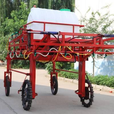 菜地玉米地打藥機 四輪玉米打藥機 框架式帶輪移動噴霧機