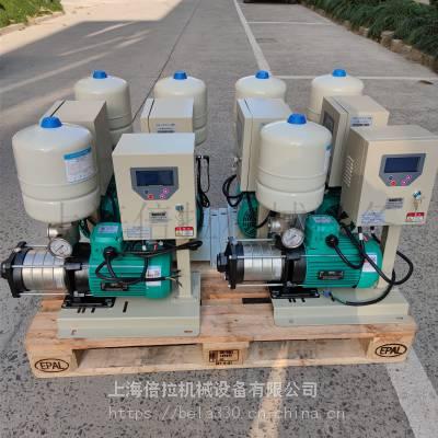 MHIL205N-3/10/E/3-380-50-2水箱加变频泵WILO德国威乐尺寸