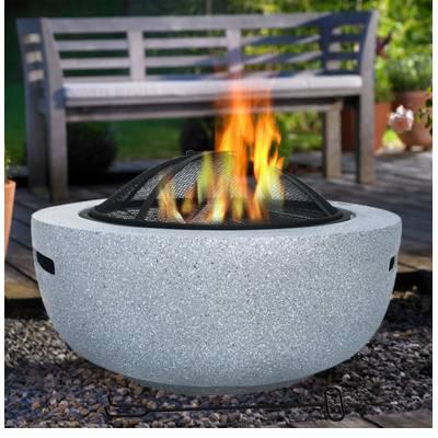庭院必备户外烤串炉:可供3-6人使用,【耐高温抗腐蚀】易清洗的水泥烤串炉!