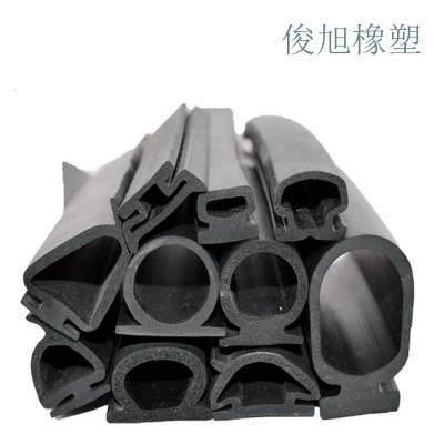 生产加工三元乙丙密封条 epdm密封条 D型海绵发泡橡胶条