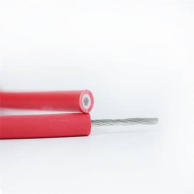 易初供应光伏电缆 ROHS TUV 标准 镀锡PV1-F 50.0MM2 单芯光伏线缆