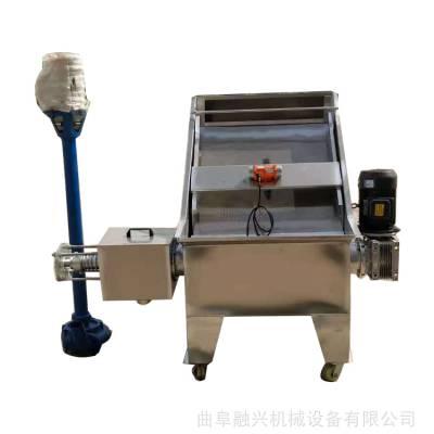 餐厨垃圾干湿分离机 180型不锈钢分离机厂家 猪粪脱水设备