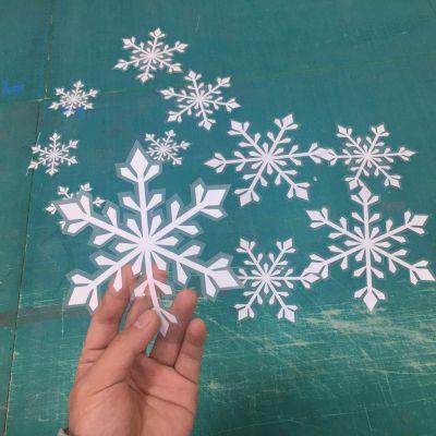 异形橱窗贴纸UV彩白彩贴纸UV静电膜生产厂家
