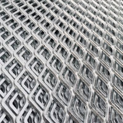 镀锌钢板网片 菱形 建筑 塔吊踩踏 平台电镀锌钢板网