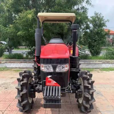 大型四轮农业机械补贴款拖拉机 秸秆打碎还田大型链条开沟拖拉机