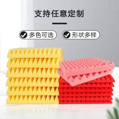 海绵厂家定制高密度海绵内衬 包装盒海绵内托 减震爆破黑色海绵