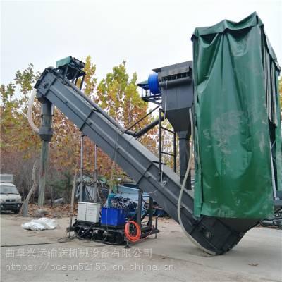 潮州集装箱粉煤灰装转设备水泥装罐车输送机