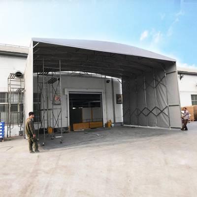 惠州工厂遮阳推拉篷 户外烧烤雨棚 移动精致帐蓬专注推拉篷