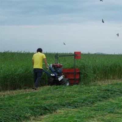 药材小型收割机 农用四轮车收割割台