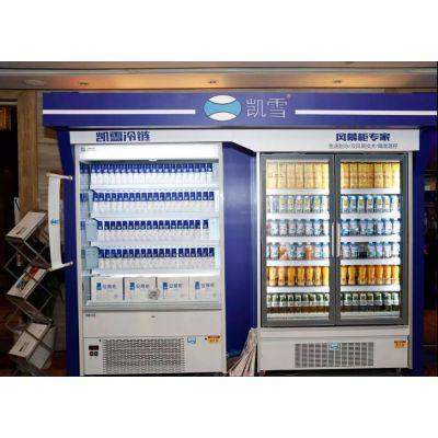凯雪风幕柜V719Z-1.0M立式风幕柜1米1.2米风冷展示柜饮料陈列柜
