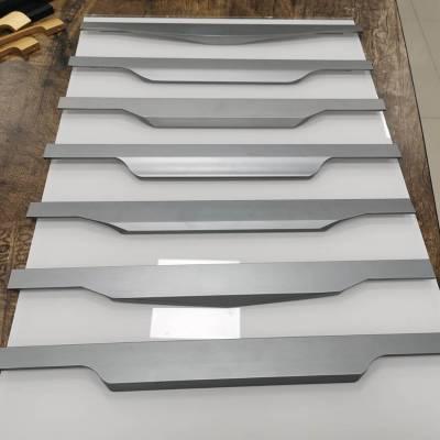 g型拉手5厘C型隐框铝材拉手 L型隐框 晶钢门拉手家 用踢脚线 铝合金修边线 铝合金装饰线条