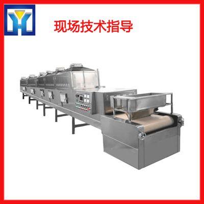 菠萝片微波烘干设备/拓博厂家直销烘干设备/干果片干燥杀菌机械