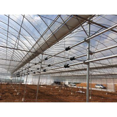 连栋温室外遮阳系统建设过程中的注意事项