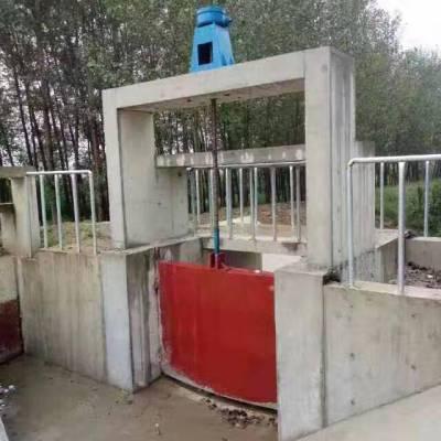 河道闸门1.5米弧形铸铁闸门 渠道闸门 铸铁闸门厂家