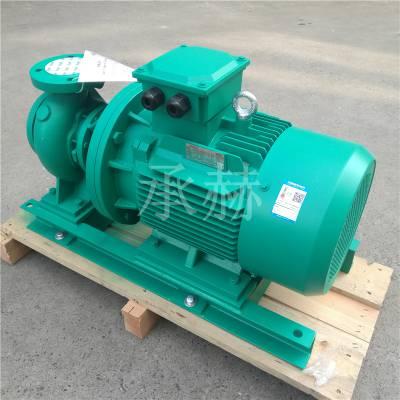 德国威乐水泵NLB50/260-3/4构造柱高温管道水多极多节多叶轮端吸分壳卧式离心防爆泵