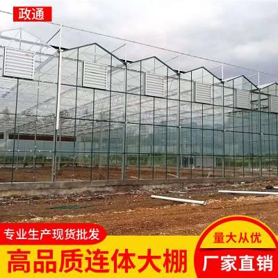 大棚管滁州明光养殖大棚带通风设备