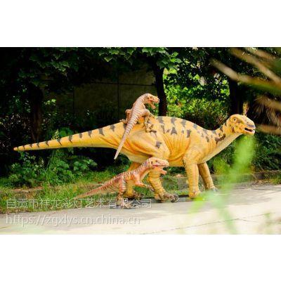 仿真恐龙厂家超大仿真霸王龙模型 互动恐龙车 1-30m定制