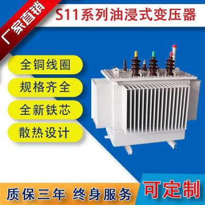 低耗节能环保油浸式变压器 全铜材质、***