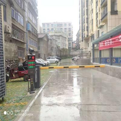钦州鸿福熙小区栏杆智能停车场收费管理系6米杆