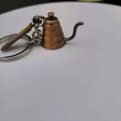 厂家钥匙扣定制 金属烤漆钥匙链制作 活动纪念钥匙扣定做