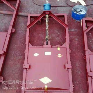 0.6米铸铁渠道闸门 600机闸一体铸铁闸门 翔禹水利