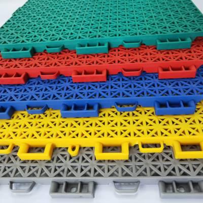 悬浮式拼装地板 东兰县 商场门口组合拼装地板 安全防滑性强
