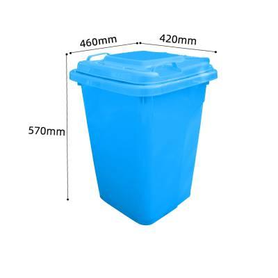 分类垃圾桶_50L塑料垃圾桶