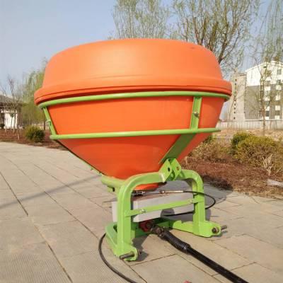 农用耕田整地化肥抛洒机 拖拉机带撒肥机 三点悬挂施肥机